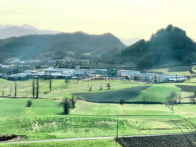 視察先のイタリア工場