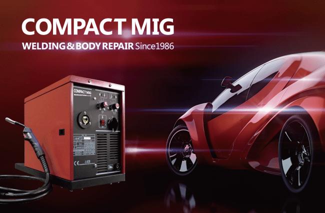 高性能半自動溶接機ブランド「COMPACT MIG(コンパクトミグ)」