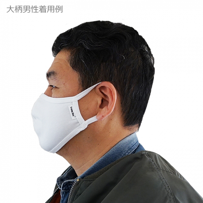 洗える布マスク「スーパーフィットNANO」