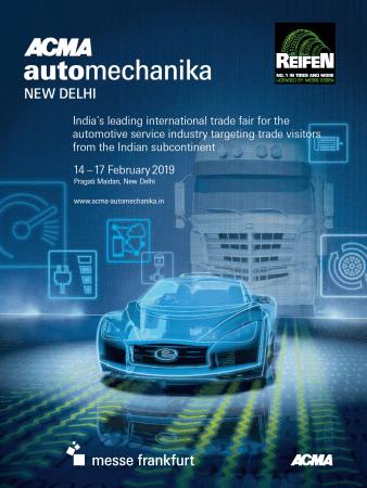 アウトメカニカ・ニューデリー ACMA Automechanika New Delhi 2019