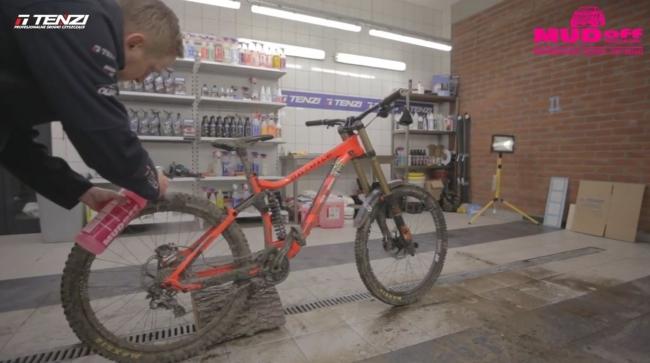 泥落としスプレー「マッドオフ」|オフロード|自転車
