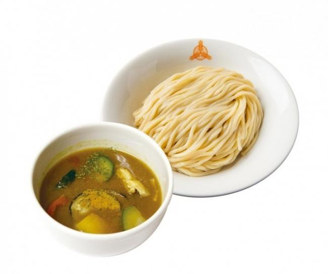 冷やし夏野菜カレーつけ麺