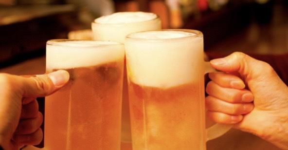 生ビールも激安飲み放題!580円~!