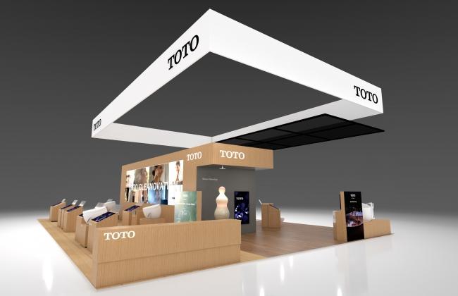 「CES 2020」 TOTOブース(イメージ)