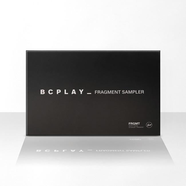 未発表音源を含むオリジナルCD・HIROSHI FUJIWARA『FRAGMENT SAMPLER』を封入した、fragment design × BCPLAY_の完全限定生産モデル「BCPLAY_FRAGMENT SAMPLER」