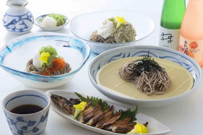 おでん「京和田」 おろしとイクラの冷やし麺」他、「涼」メニュー(ランチ・ディナー)