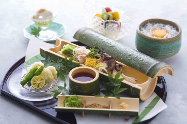 日本料理「神戸 たむら」 「兵庫県手延素麺ランチ」