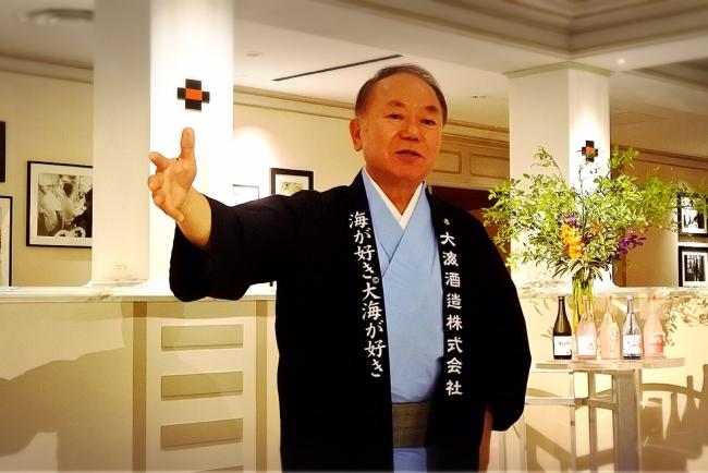 「世界の焼酎屋」山下正博氏
