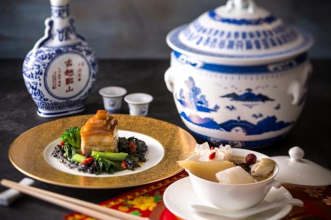 聚景園 春節祭 特別コース 料理イメージ