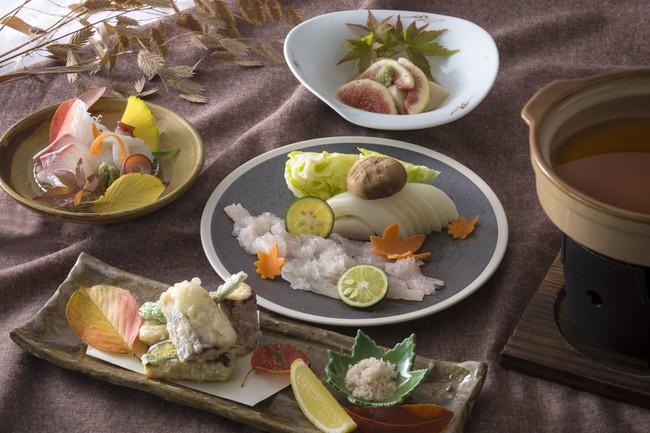 日本料理 神戸 たむら 「淡路鱧しゃぶランチ」