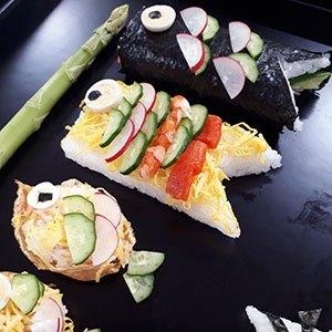 和食 料理長とつくるこいのぼり寿司(イメージ)