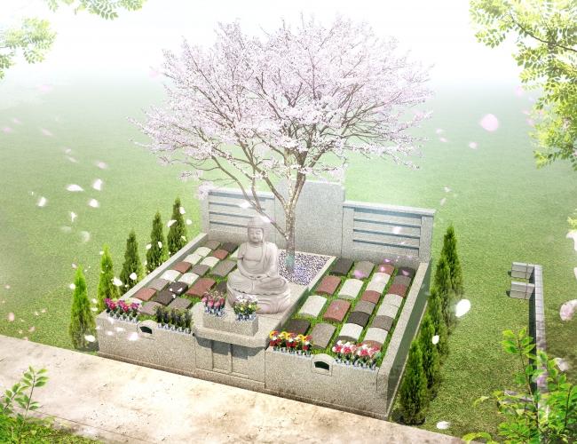 観明寺永代供養樹木葬さくらの碑