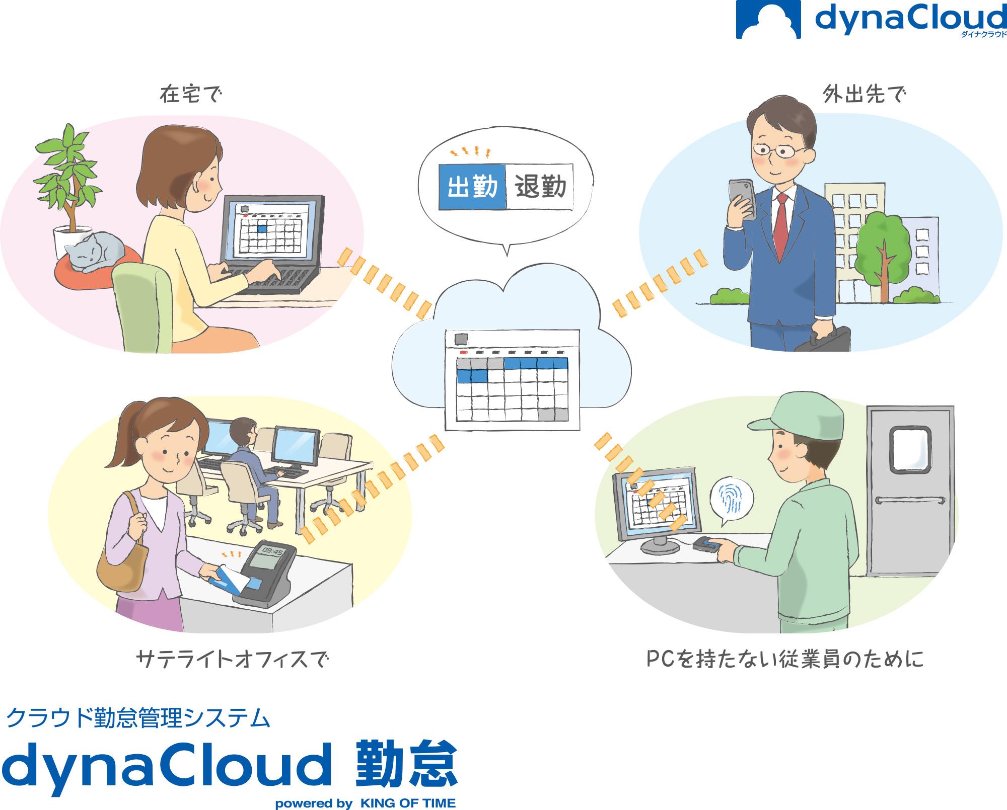 Dynabook社のクラウドサービス「dynaCloud」を強化。