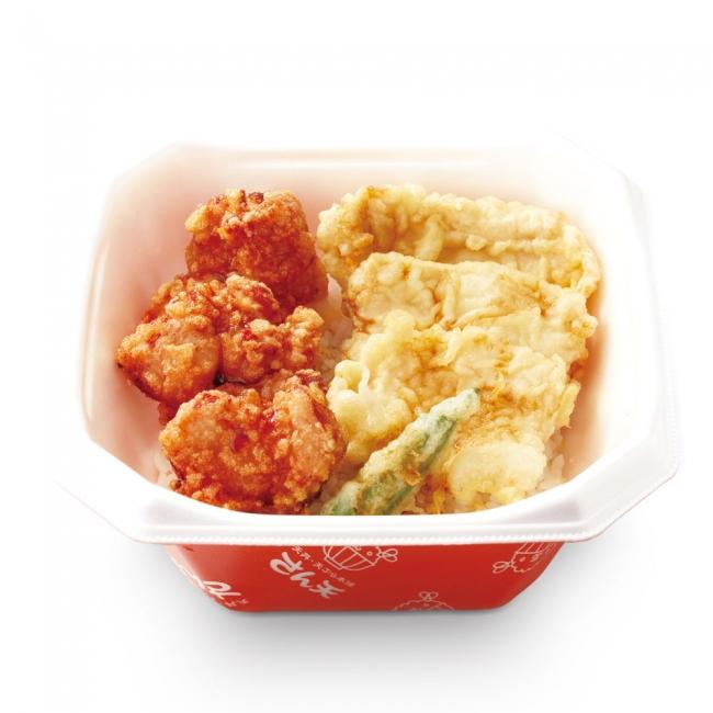 天丼・天ぷら本舗 さん天 鶏唐×鶏天丼