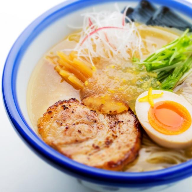夏季限定冷やし柚子塩麺