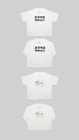AFURI×Sillage Katakana Logo T sh ¥9,500 Long Sleeve T sh ¥12,500