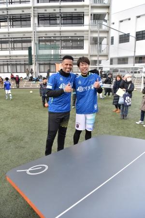 元サッカー日本代表 三都主アレサンドロさん    テックボール日本代表 WASSE選手
