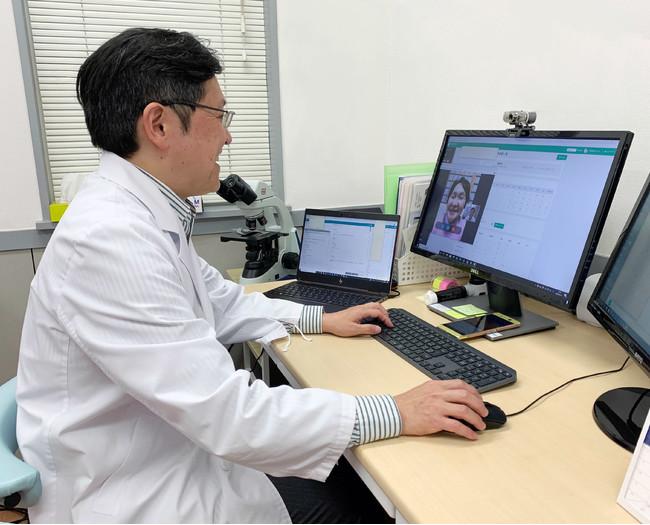 telemedEASE オンライン診療イメージ