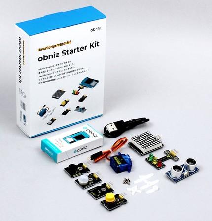 IoT初心者に人気の『obniz Starter Kit』