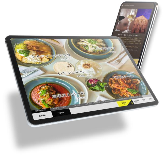 テーブルトップオーダー・モバイルオーダー イメージ