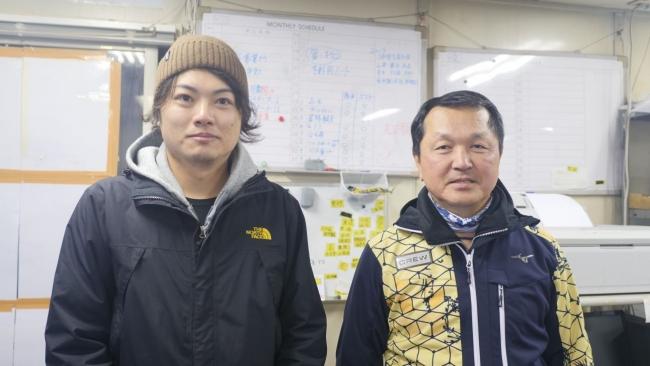 株式会社Workplays 代表の奥村と氷ノ山スノースクール代表の平家氏