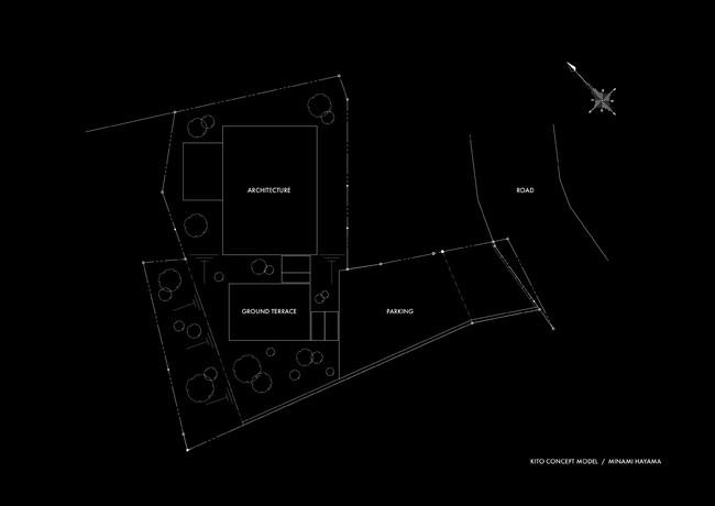 南葉山で開発中の物件配置図