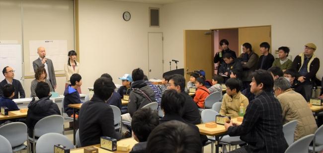 富山県新分野産業育成事業の将棋大会
