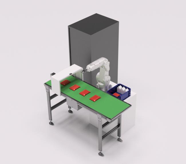 食品・食器 仕分けロボット