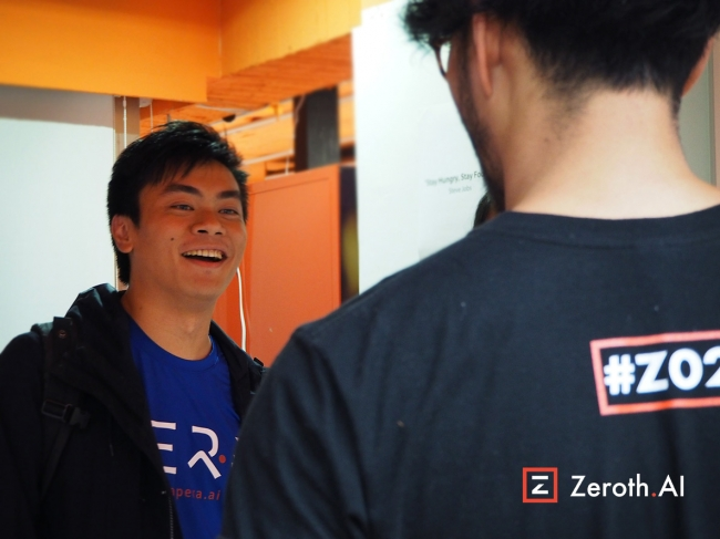 Zeroth 台湾イベント台湾 AppWorks