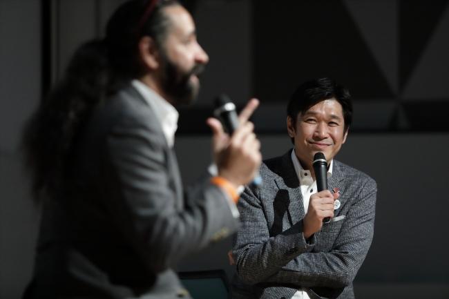 「介護の日inくまもと2019」トークショーでの石本氏