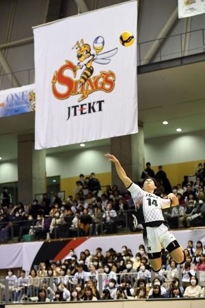 1月31日にはジェイテクトがチーム初のナイターを開催した