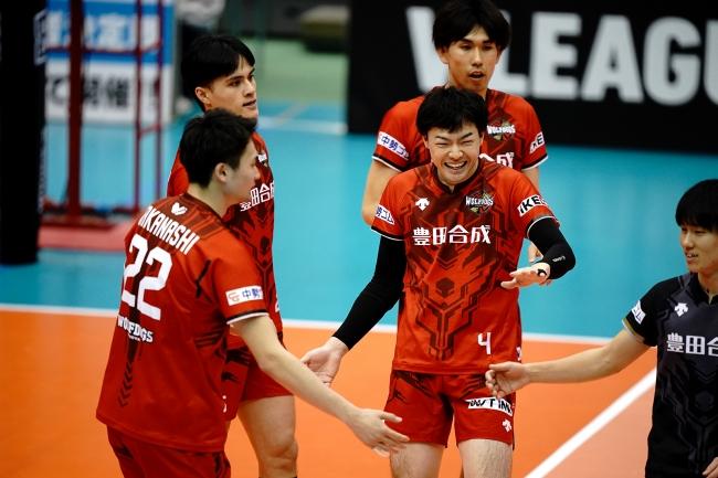 WD名古屋・内山は12日の試合出場でVリーグ栄誉賞に該当する240試合出場を達成した
