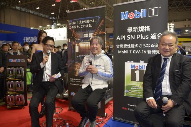 星野監督も期待を寄せる新商品Mobil 1新エンジンオイル「Mobil1 SN ...