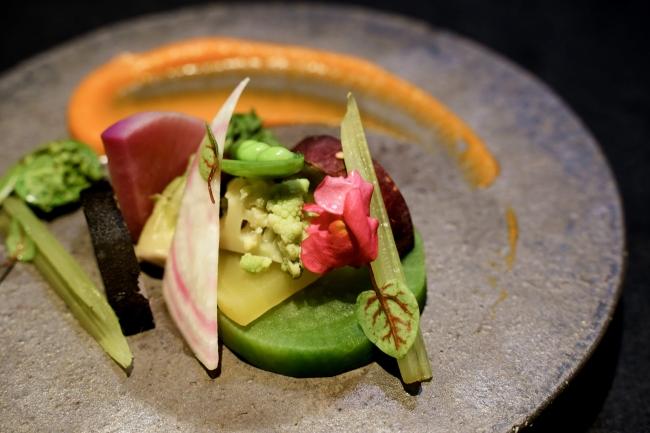 旬の野菜プレート