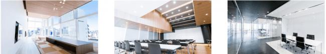 176のフリーアドレス席を有したオープンスペース。 270名まで入るイベントスペース、16のオフィススペース。 ブロックチェーンに関連したプロジェクトやメディアイベント、ハッカソン、セミナー等にご利用頂けます。