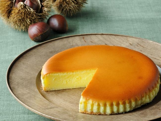 御用邸栗チーズケーキ
