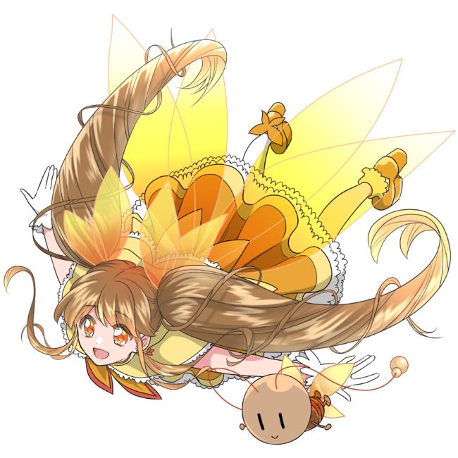 魔法少女になったメスゴキブリ(空を飛ぶポーズ)