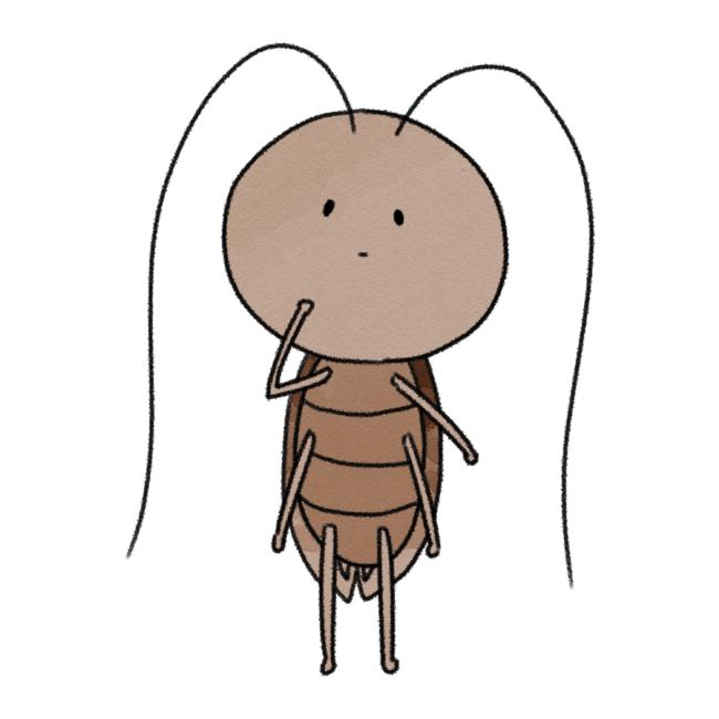 ゆるふわゴキブリ1