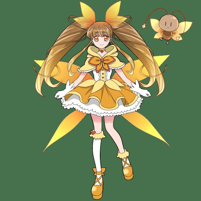 魔法少女になったメスゴキブリ(立ち絵)