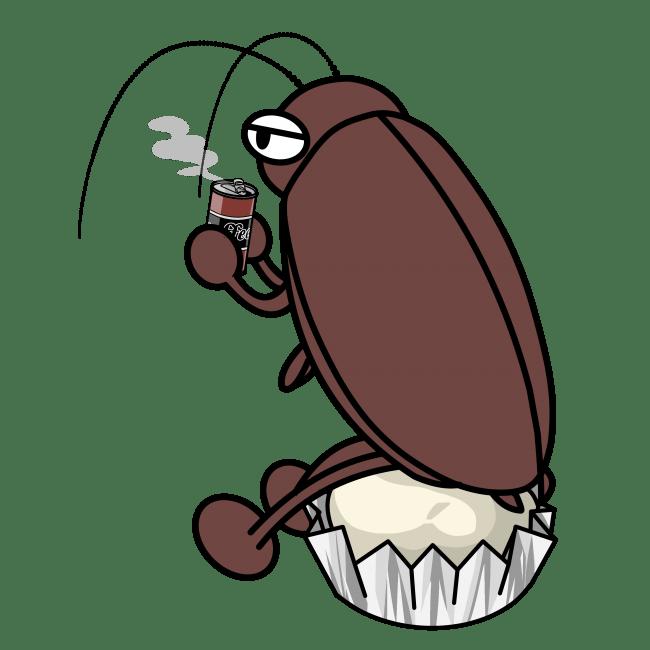 哀愁ただようゴキブリ