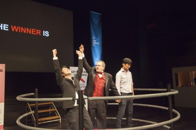 SAgriがファイナルにおいて、優勝が発表され、見事に崩れる瞬間。