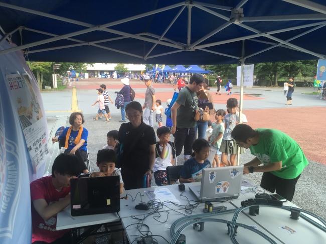 VF甲府と、地域の学習塾とのタイアップ