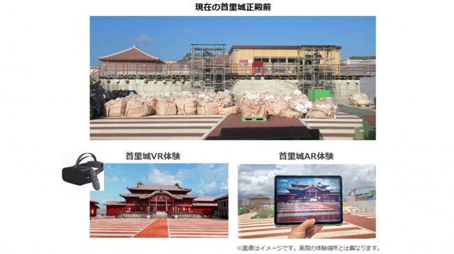 「首里城VRゴー」のイメージ