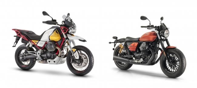 V85 TT(左)、V9 Bobber Sport(右)