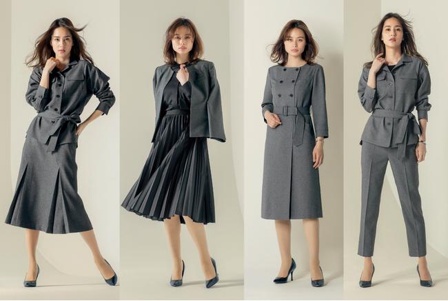 変化する働き方に合わせて提案する、新しい仕事服―YUKI TORII