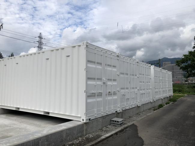 湯沢コンテナデータセンター
