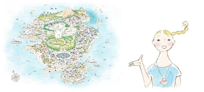 プレディア島/島の案内人 プレミちゃん