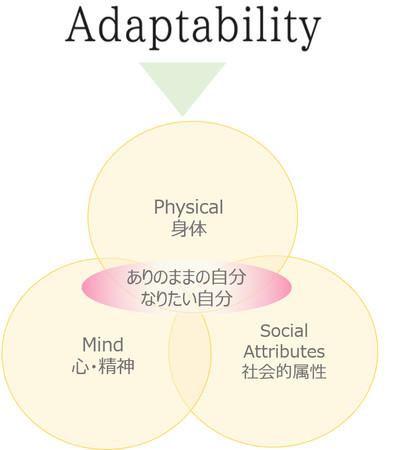 アダプタビリティを成す 3つの視点
