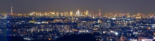 都心のパノラマ夜景