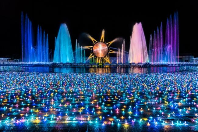 「噴水ショー」
